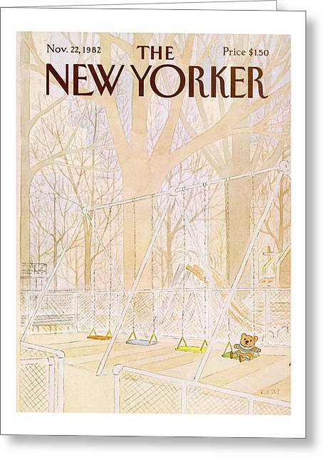 New Yorker November 22nd, 1982 Greeting Card