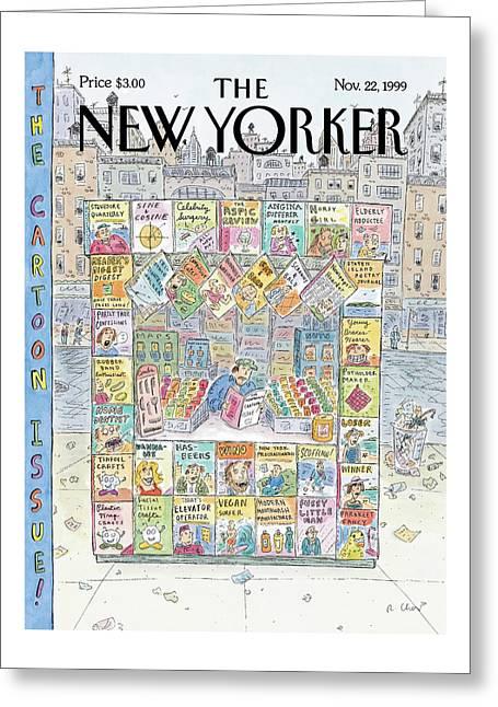 New Yorker November 22nd, 1999 Greeting Card