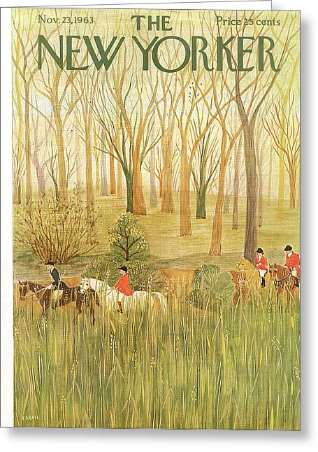 New Yorker November 23rd, 1963 Greeting Card