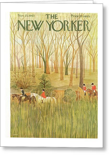 New Yorker November 23rd, 1963 Greeting Card