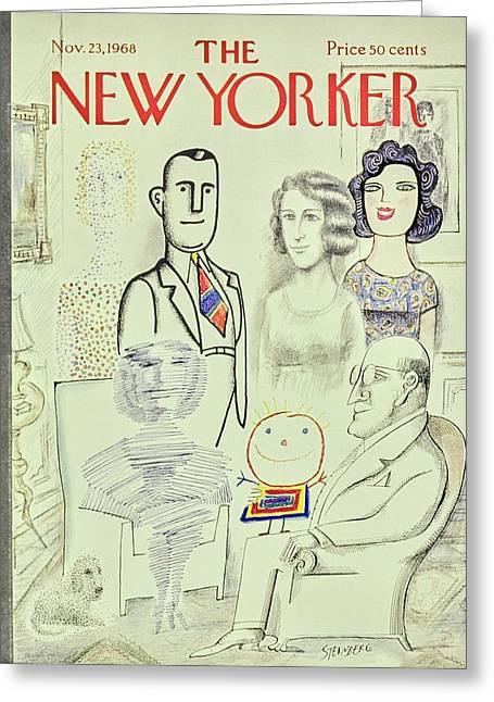 New Yorker November 23rd 1968 Greeting Card