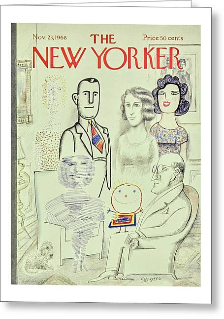 New Yorker November 23rd 1968 Greeting Card