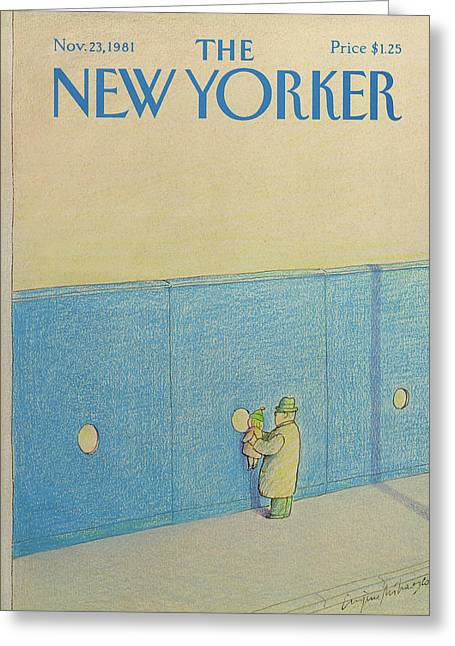New Yorker November 23rd, 1981 Greeting Card