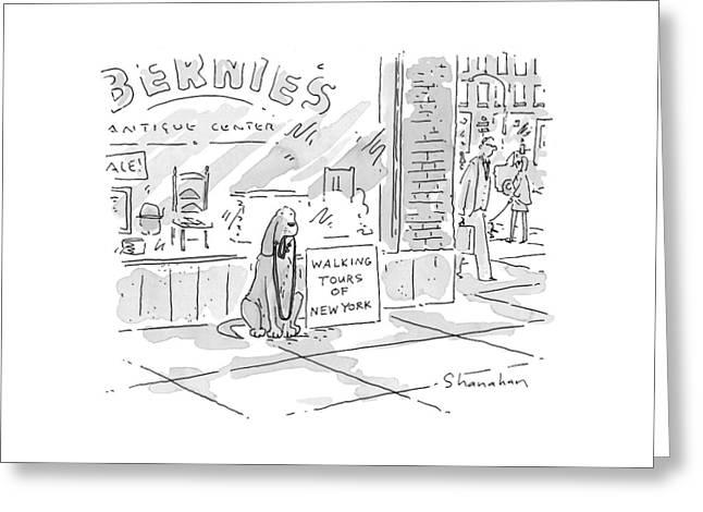 New Yorker November 23rd, 1998 Greeting Card