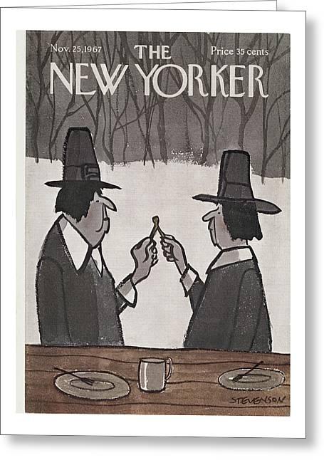 New Yorker November 25th, 1967 Greeting Card