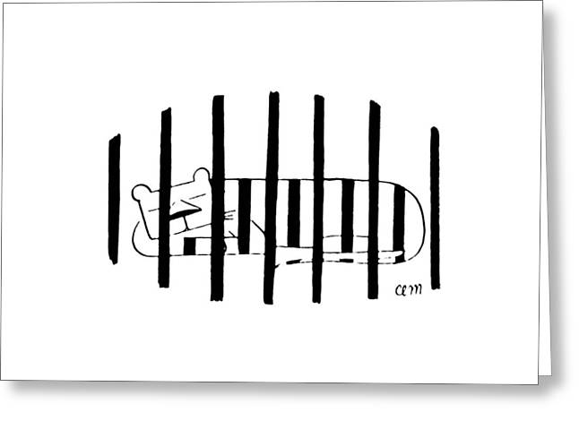 New Yorker November 25th, 1972 Greeting Card