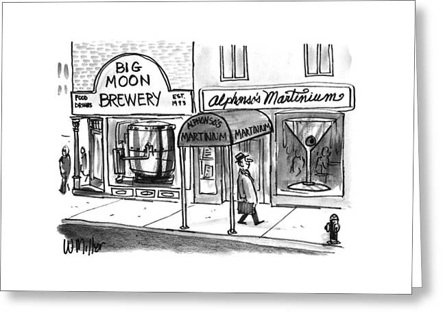 New Yorker November 25th, 1996 Greeting Card