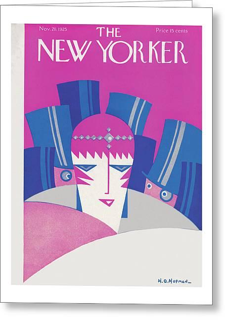 New Yorker November 28th, 1925 Greeting Card