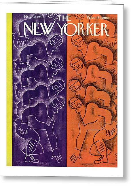New Yorker November 28th, 1931 Greeting Card