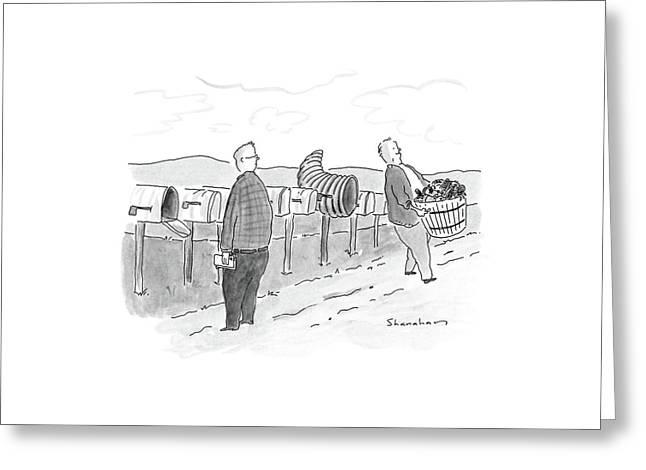 New Yorker November 28th, 1988 Greeting Card by Danny Shanahan