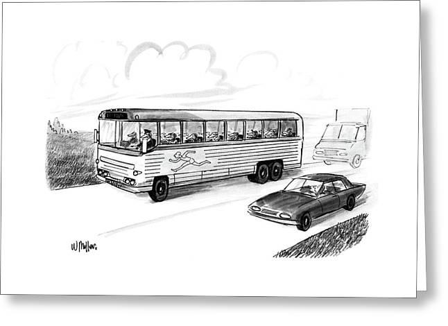 New Yorker November 28th, 1988 Greeting Card