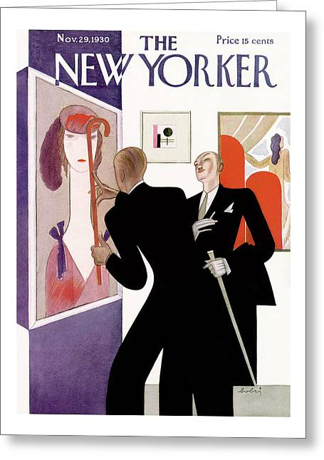 New Yorker November 29th, 1930 Greeting Card