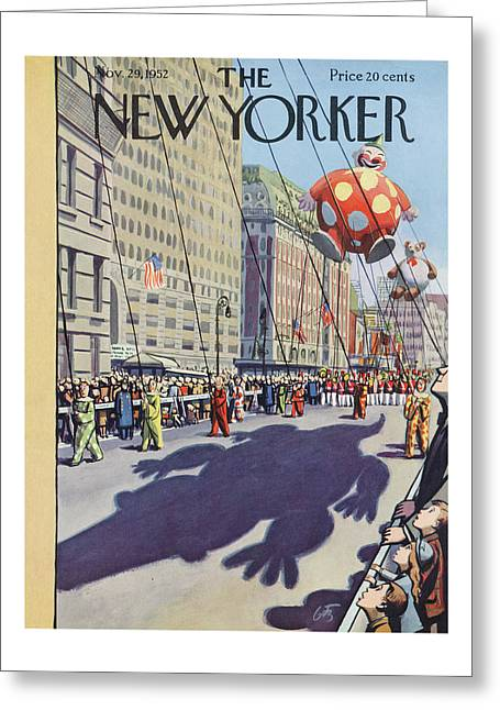 New Yorker November 29th, 1952 Greeting Card