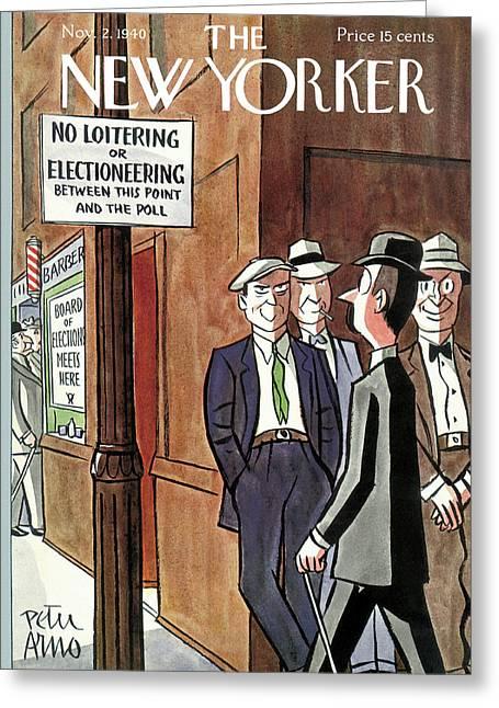 New Yorker November 2nd, 1940 Greeting Card