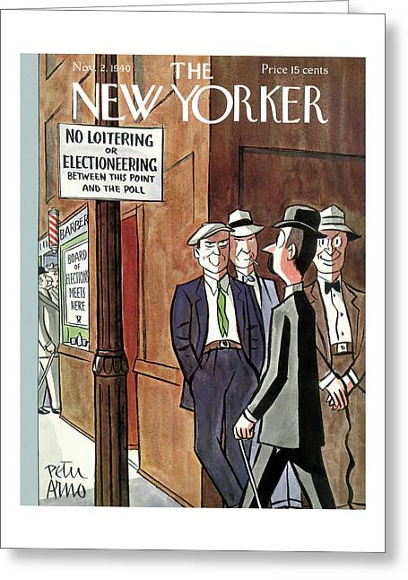 New Yorker November 2nd, 1940 Greeting Card