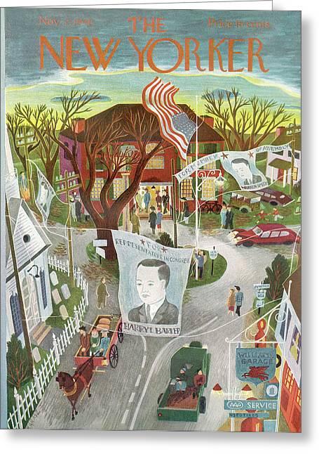 New Yorker November 2nd, 1946 Greeting Card