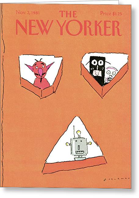 New Yorker November 2nd, 1981 Greeting Card