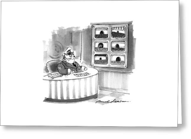 New Yorker November 2nd, 1992 Greeting Card by Bernard Schoenbaum