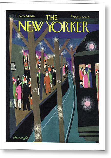 New Yorker November 30th, 1929 Greeting Card