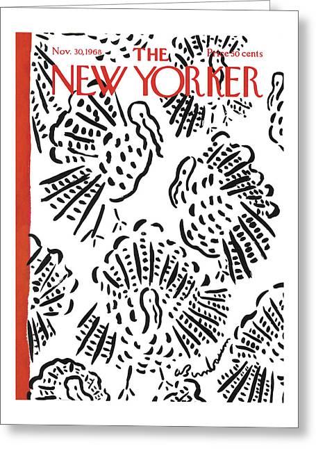 New Yorker November 30th, 1968 Greeting Card