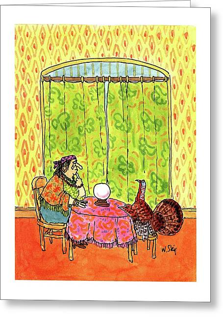 New Yorker November 30th, 1992 Greeting Card by William Stei