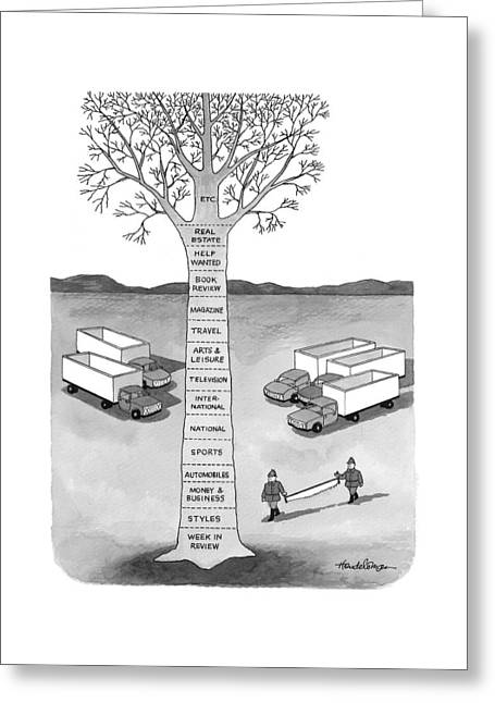 New Yorker November 30th, 1998 Greeting Card
