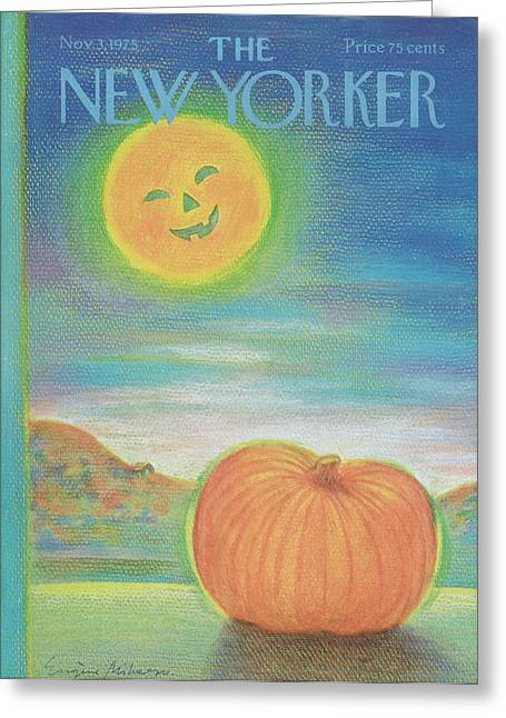 New Yorker November 3rd, 1975 Greeting Card
