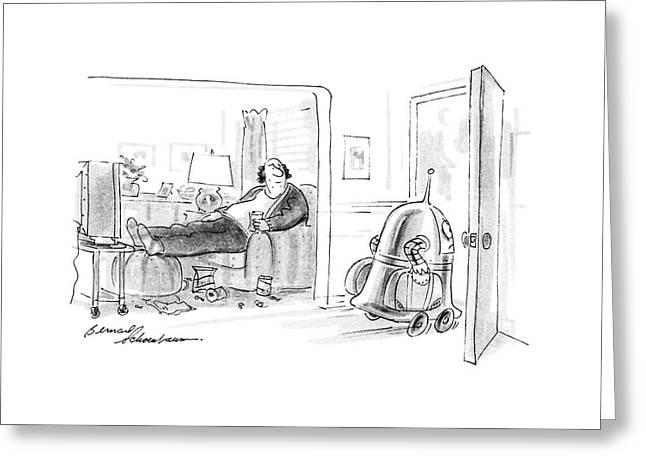 New Yorker November 3rd, 1986 Greeting Card