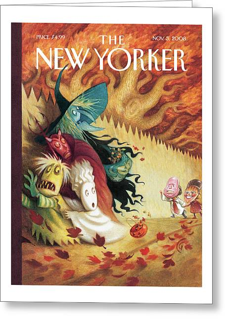 New Yorker November 3rd, 2008 Greeting Card
