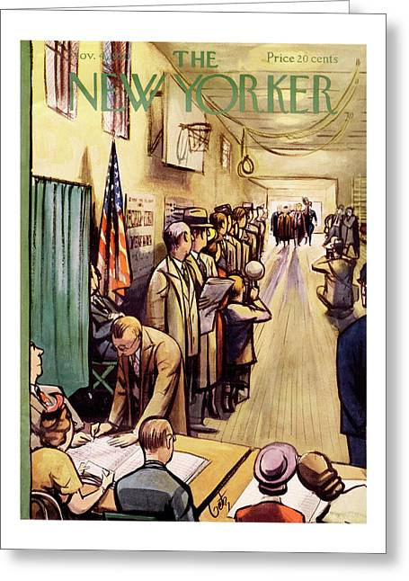 New Yorker November 4th, 1950 Greeting Card