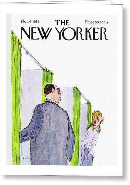 New Yorker November 4th, 1972 Greeting Card