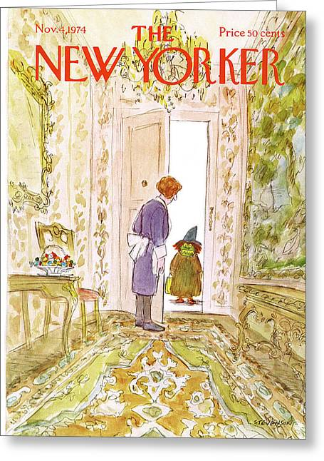 New Yorker November 4th, 1974 Greeting Card