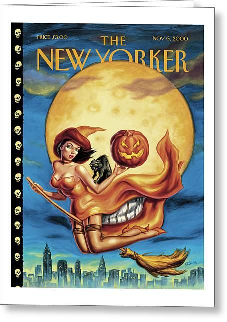 New Yorker November 6th, 2000 Greeting Card