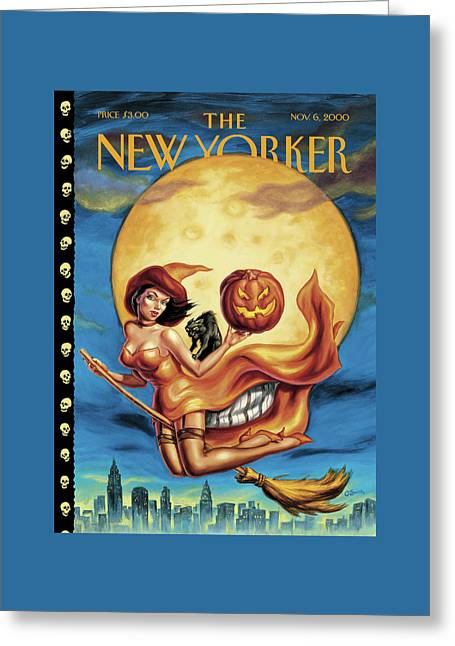 New Yorker November 6th, 2000 Greeting Card by Owen Smith