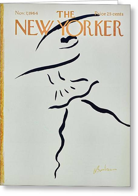 New Yorker November 7th 1964 Greeting Card by Aaron Birnbaum