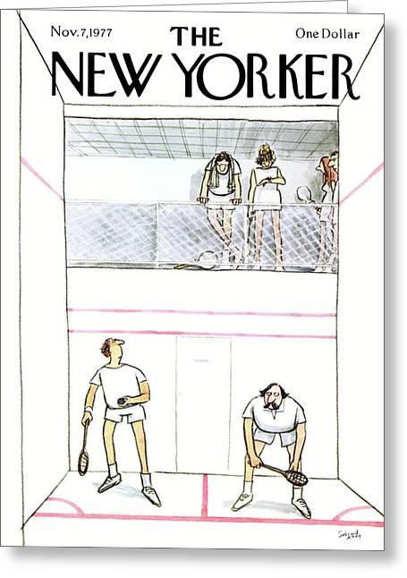 New Yorker November 7th, 1977 Greeting Card