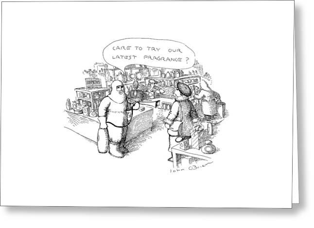 New Yorker November 7th, 1988 Greeting Card by John O'Brien