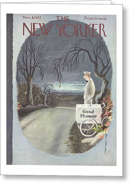 New Yorker November 8th, 1947 Greeting Card
