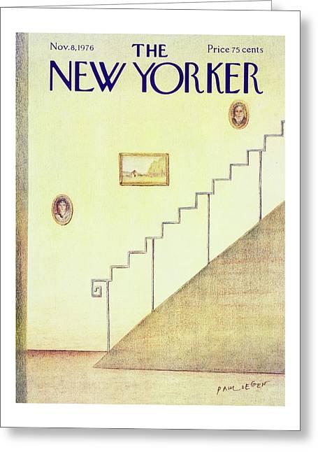 New Yorker November 8th 1976 Greeting Card