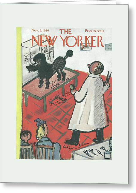New Yorker November 9th, 1946 Greeting Card by Abe Birnbaum