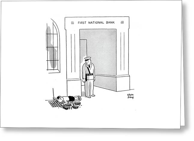 New Yorker October 11th, 1941 Greeting Card