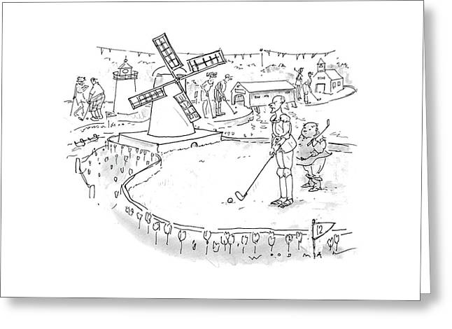 New Yorker October 11th, 1993 Greeting Card
