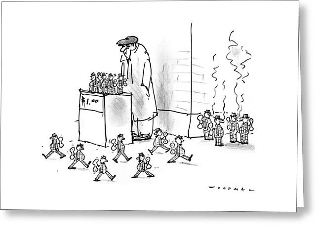 New Yorker October 13th, 1997 Greeting Card