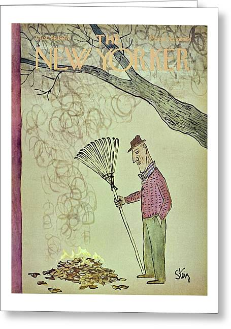 New Yorker October 14th 1967 Greeting Card