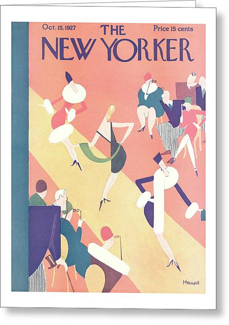 New Yorker October 15th, 1927 Greeting Card