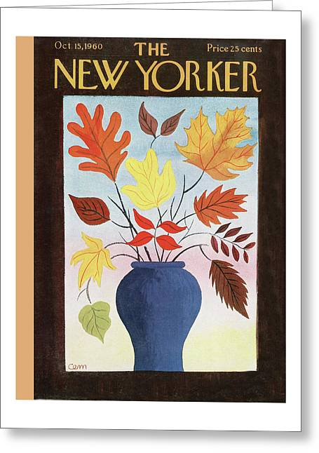New Yorker October 15th, 1960 Greeting Card