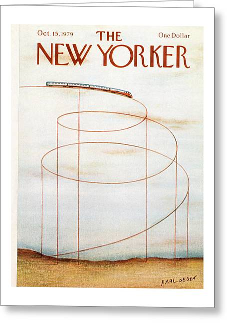 New Yorker October 15th, 1979 Greeting Card