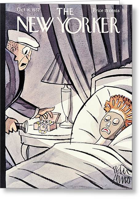 New Yorker October 16th 1937 Greeting Card