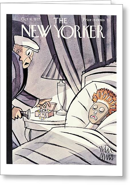 New Yorker October 16th, 1937 Greeting Card