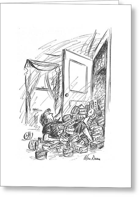 New Yorker October 16th, 1943 Greeting Card